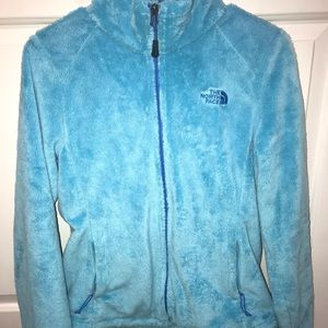 Baby Blue North Face Jacket
